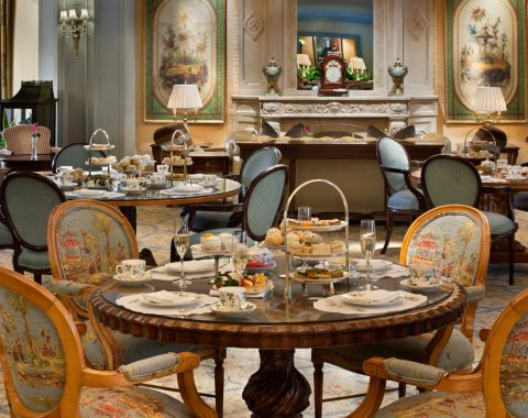 traditional English afternoon tea is hosted Friday - Sunday in Le Salon at Windsor Court